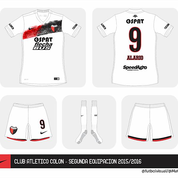 Club Colón Nike away kit