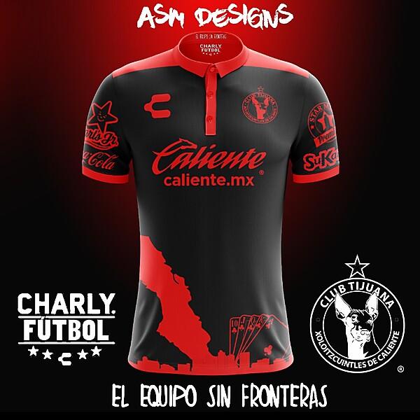 Club Tijuana Charly 2018 Away Kit