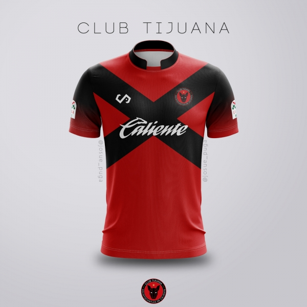 Club Tijuana Xolos Jersey