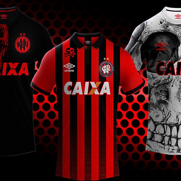 Clube Atletico Paranaense / Umbro kits