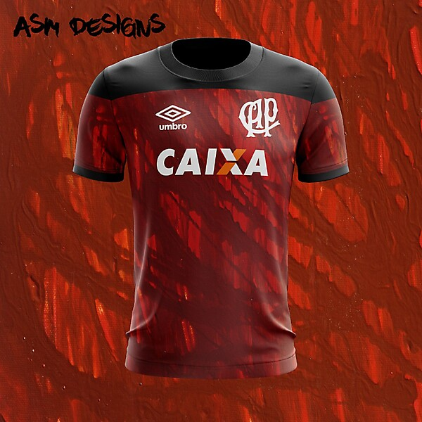 Clube Atlético Paranaense Umbro 2018 Home Kit