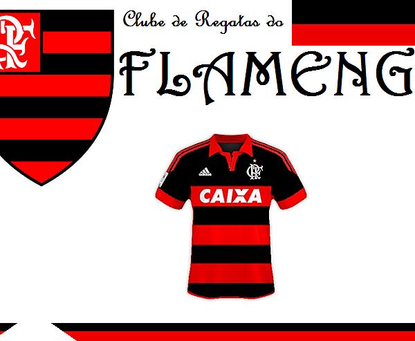 Clube de Regatas do Flamengo by VamG