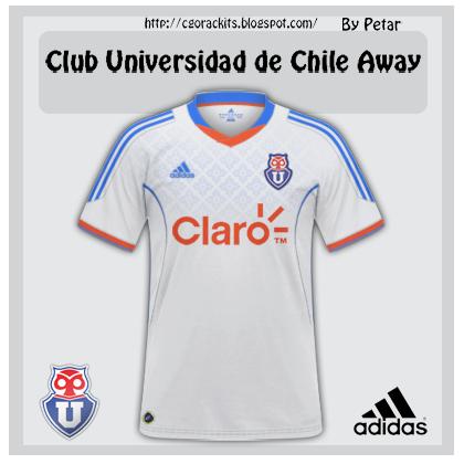 Club Universidad de Chile Away