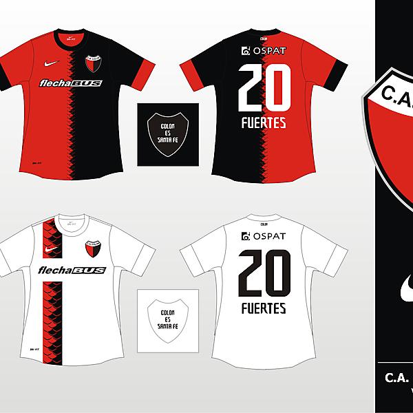 Colon de Santa Fe Nike 2012 - Version 2