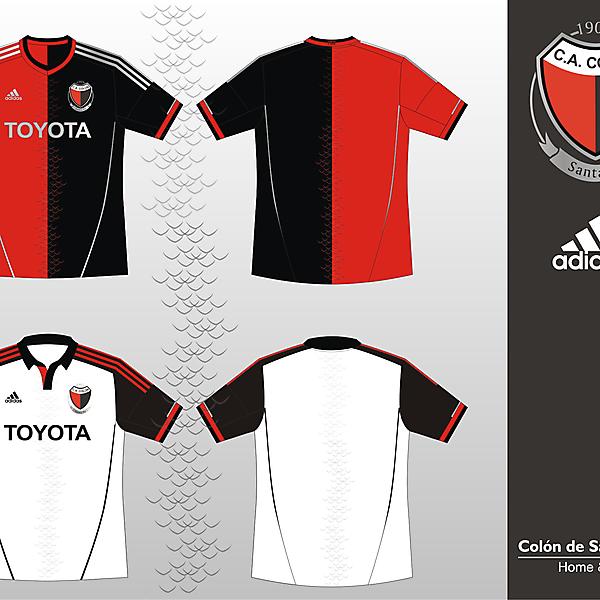 Colon de Santa Fe Adidas 2012/2013