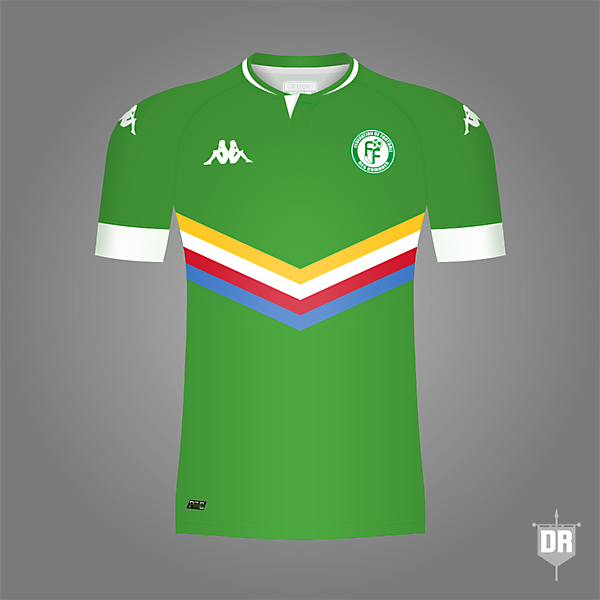 Comoros Football Team Home Kit