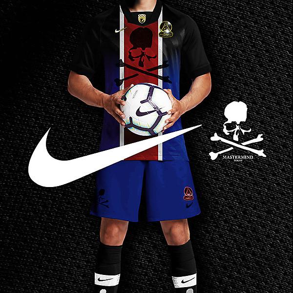 Concept PSG x Nike x MASTERMIND World collab