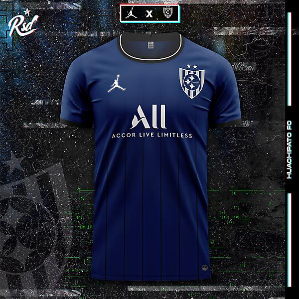 Concepto de kit Jordan X Huachipato FC