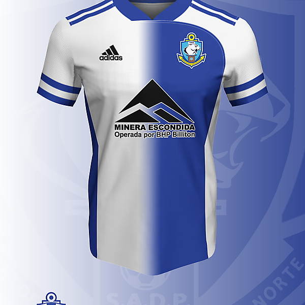 Concepto I - Deportes Antofagasta x Adidas camiseta Local (2021)
