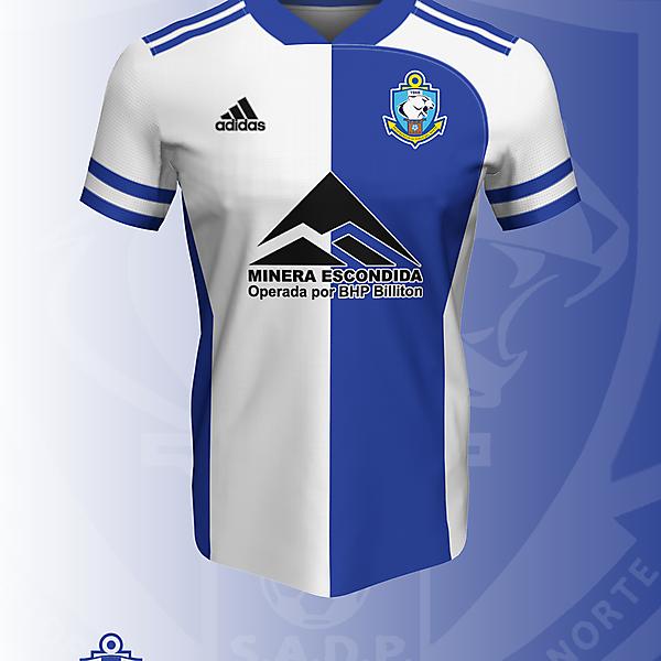 Concepto I Ver. N° 2 - Deportes Antofagasta x Adidas camiseta Local (2021)