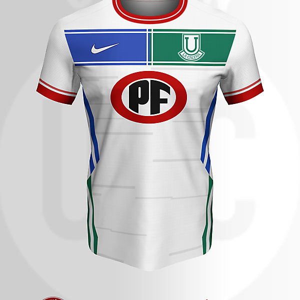 Concepto II - Unión La Calera x Nike Camiseta Visita (2021)