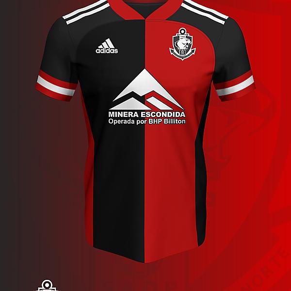 Concepto II Ver. N°2 - Deportes Antofagasta x Adidas camiseta Visitante (2021)