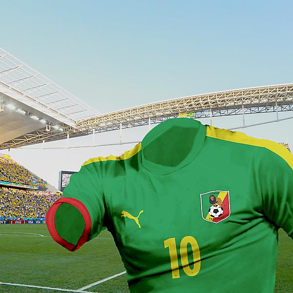 Congo - 2nd kit