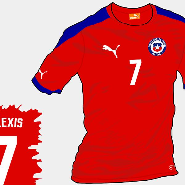 Copa America 2015 - Grupo A - Chile Home