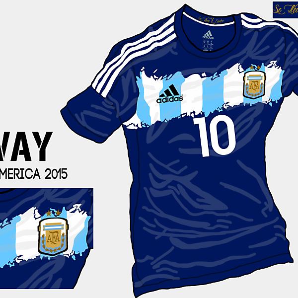 Copa America 2015 - Grupo B - Argentina Away (Re-Uploaded)