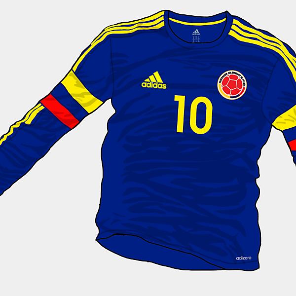 Copa America 2015 - Grupo C - Colombia Away