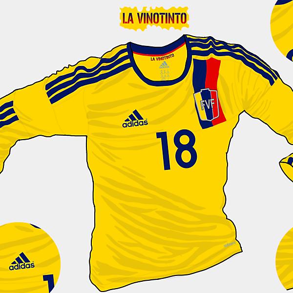 Copa America 2015 - Grupo C - Venezuela Away