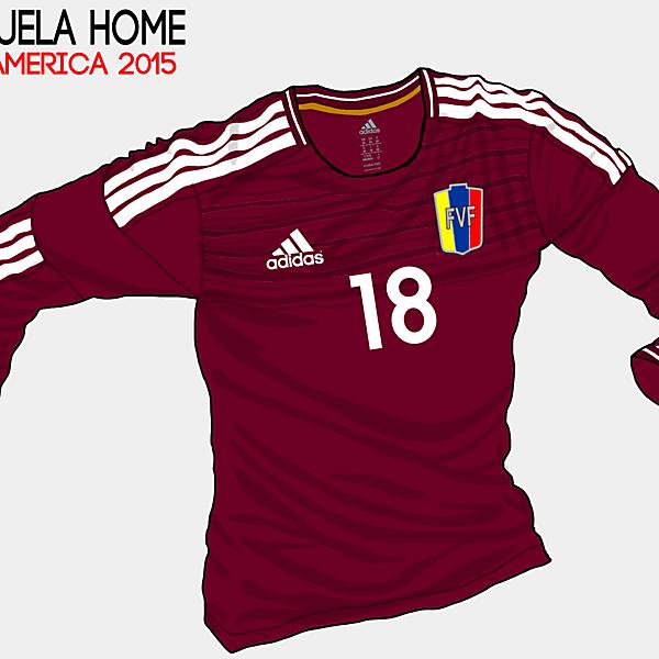 Copa America 2015 - Grupo C - Venezuela Home