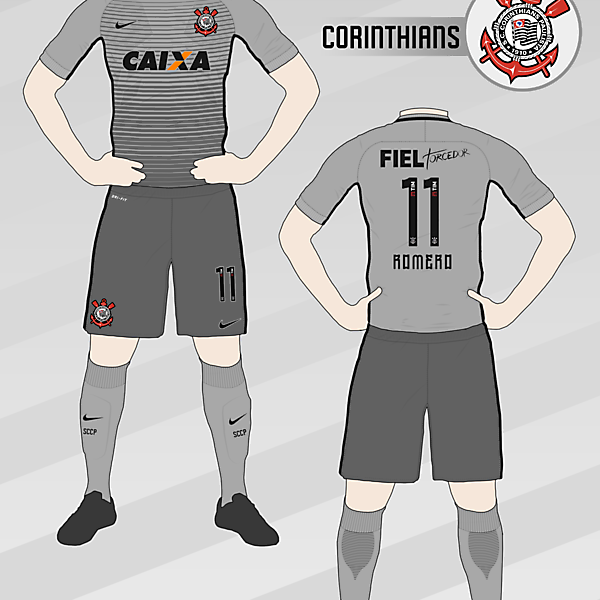 Corinthians 2016-17 Third Kit