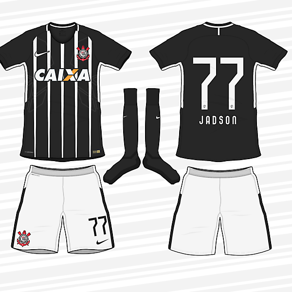 Corinthians 2017-18 Away Kit (according to leaks)