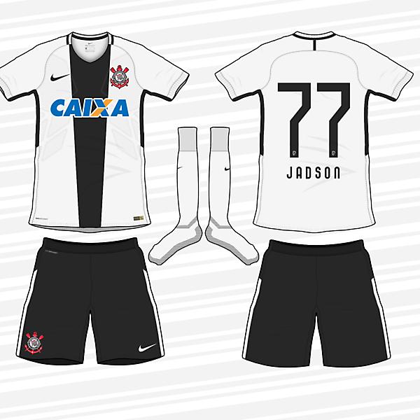 Corinthians 2017-18 Home Kit (according to leaks)