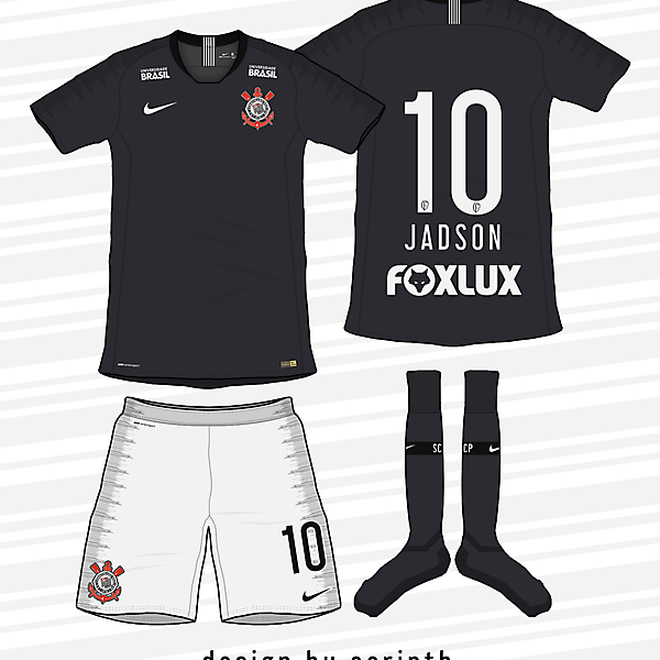 Corinthians 2018-19 Away Kit (According to leaks)