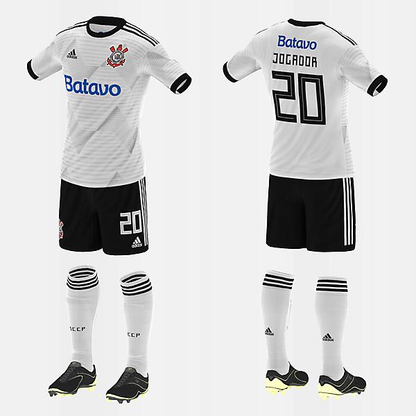 Corinthians (Home/Adidas) (#fbrkits1920)