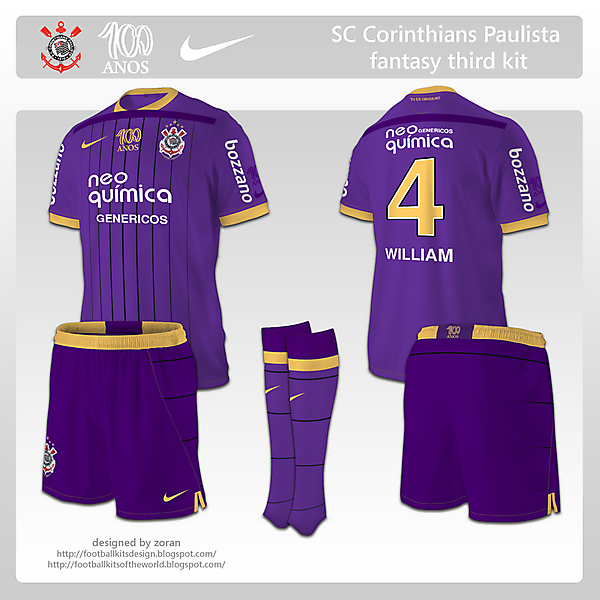 SC Corinthians Paulista fantasy third