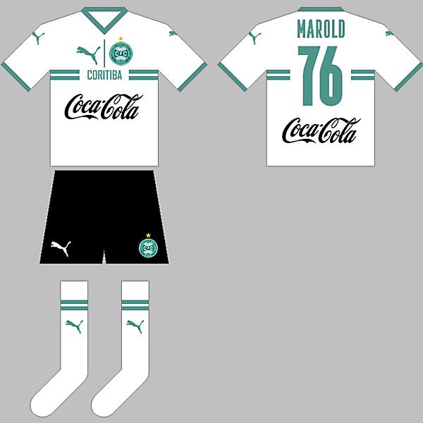 Coritiba Puma 2021 Sponsored by Coke