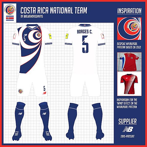 Costa Rica Away