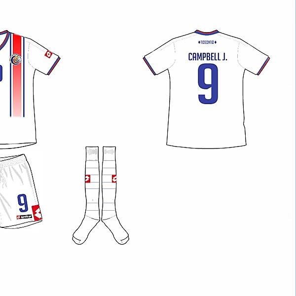 Costa Rica Away Kit