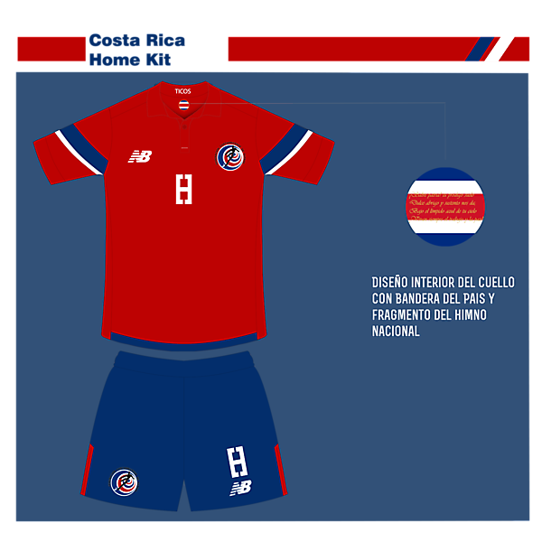 Costa Rica Home-New Blance
