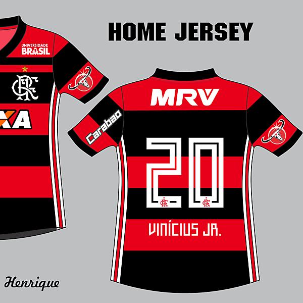 CR Flamengo Home 2018