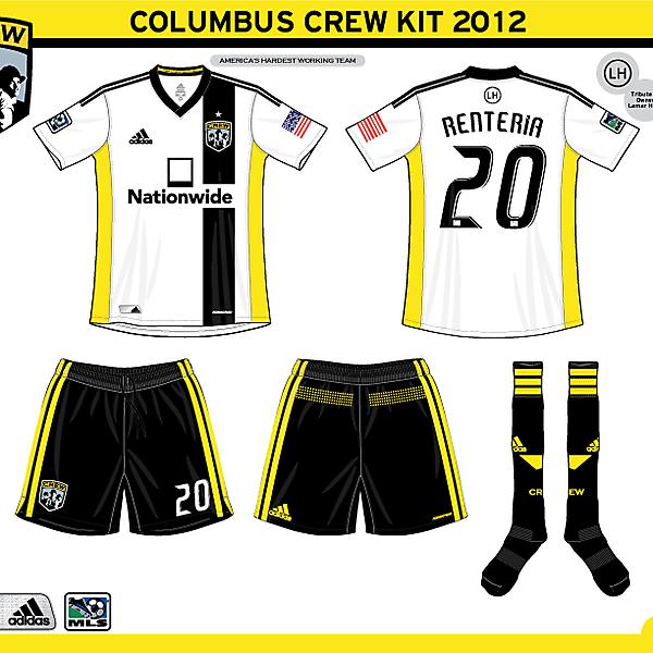 Columbus Crew 2012 Kits