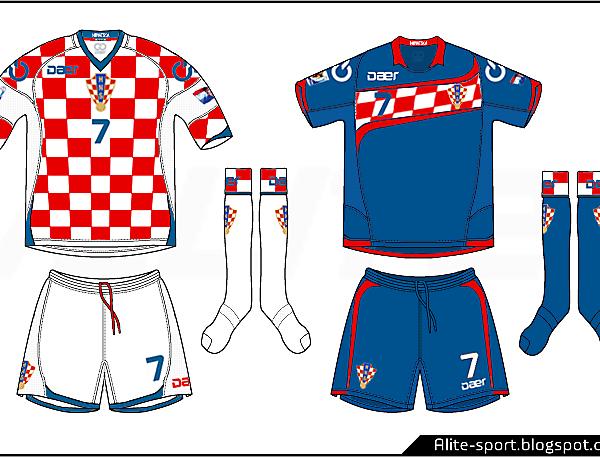 Croacia Daer Home & Away Kit