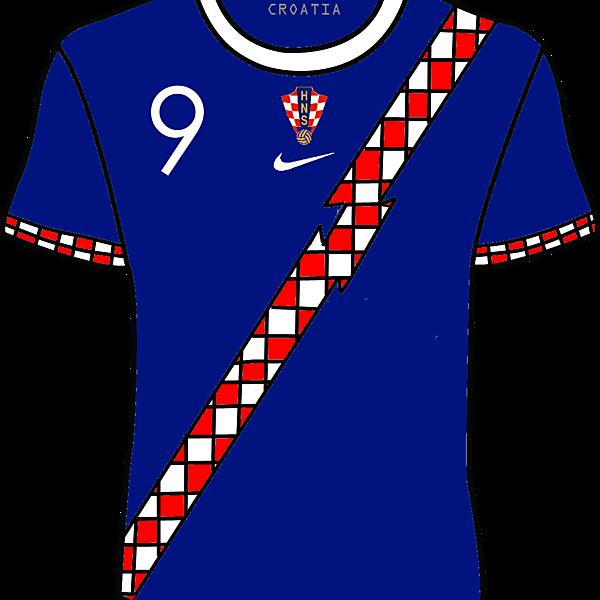 Croatia 15/16 Nike Away Kit