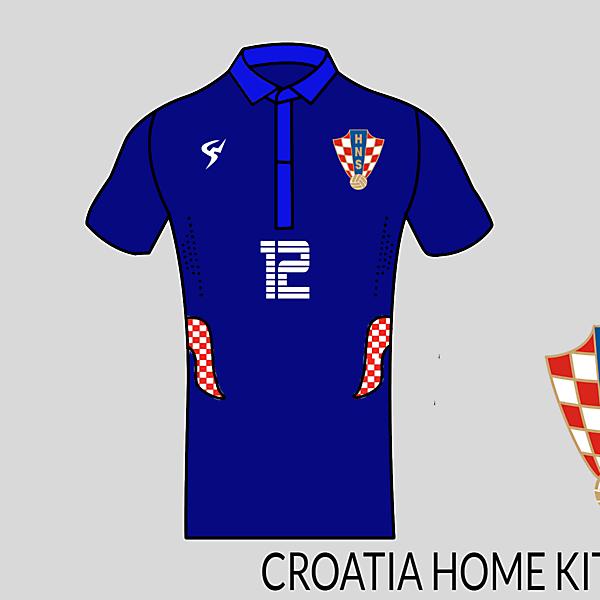 Croatia football shirt away