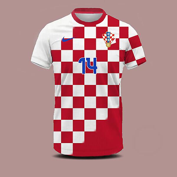 Croatia home shirt concept
