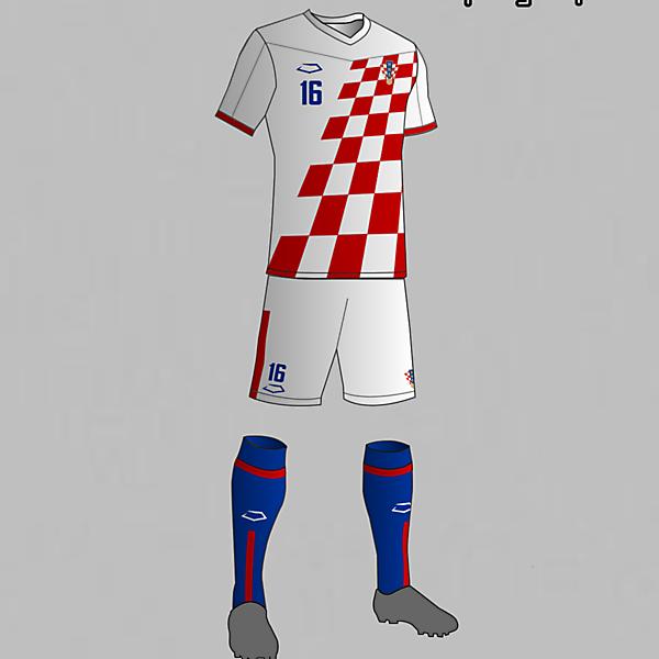 Croatia National Football Team Home Kit 2016