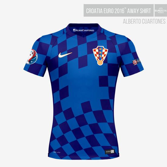 Croatia UEFA EURO 2016™ Away Shirt