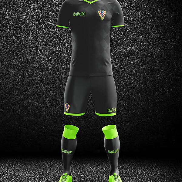 Croatia x Away Kit Design