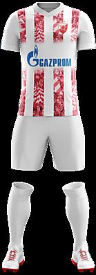 Crvena Zvezda home kit