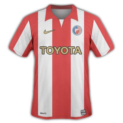 Crvena Zvezda Home Shirt
