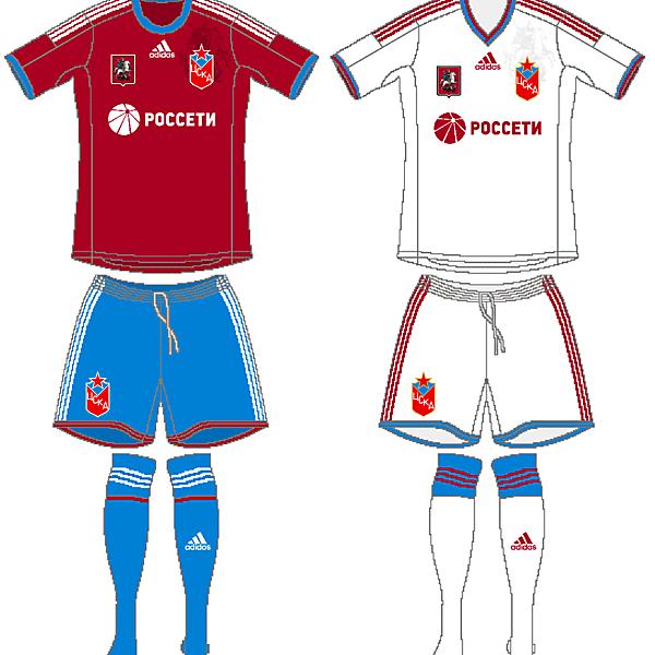CSKA Moscow Adidas Kits