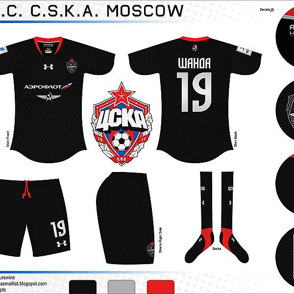 CSKA Moscow Away