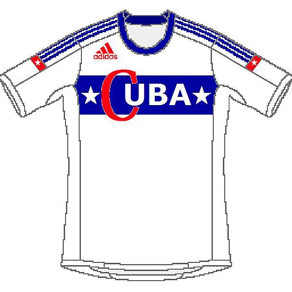 Cuba Adidas Away