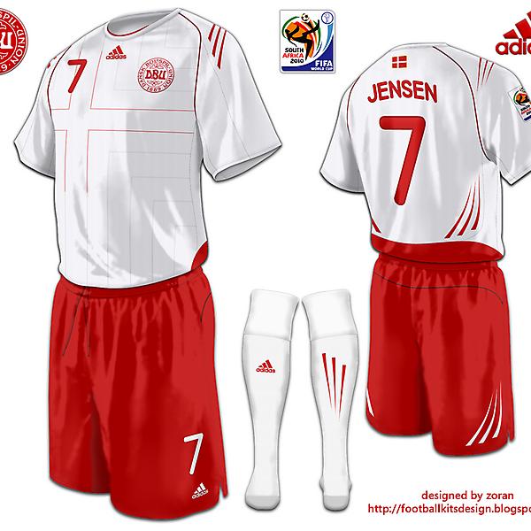 Denmark World Cup fantasy away