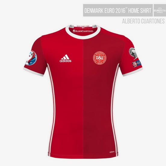 Denmark UEFA EURO 2016™ Home Shirt