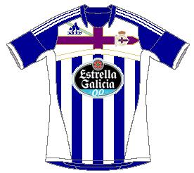 Deportivo de La Coruña Adidas Home
