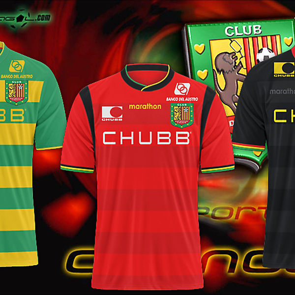 Deportivo Cuenca  - Marathon kits